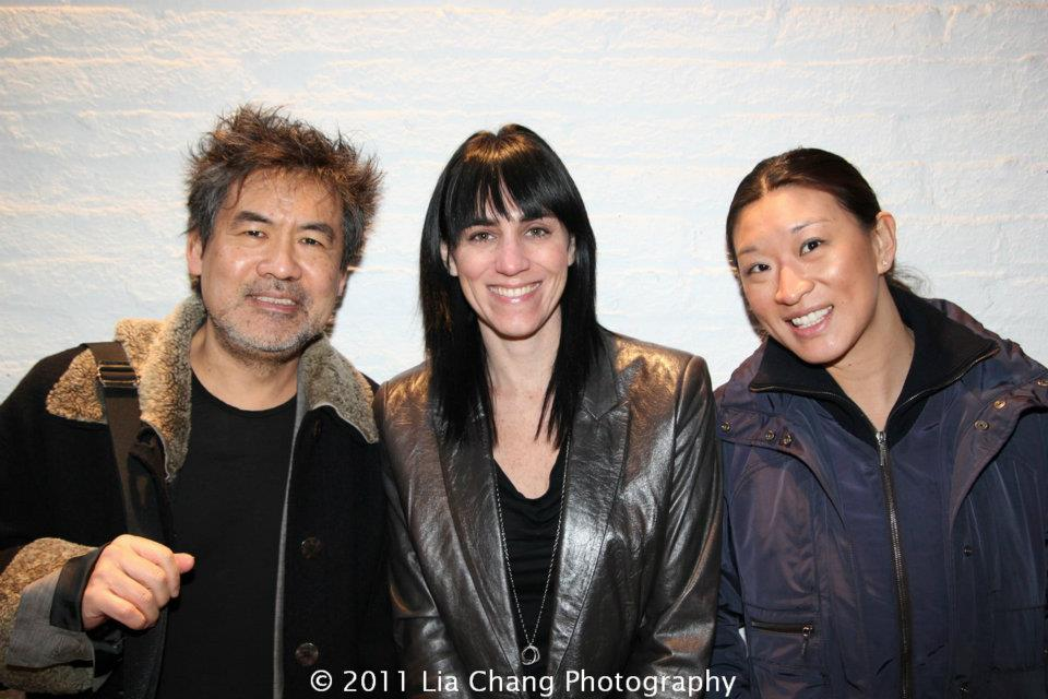 Lily with David Henry Hwang & Leigh Silverman