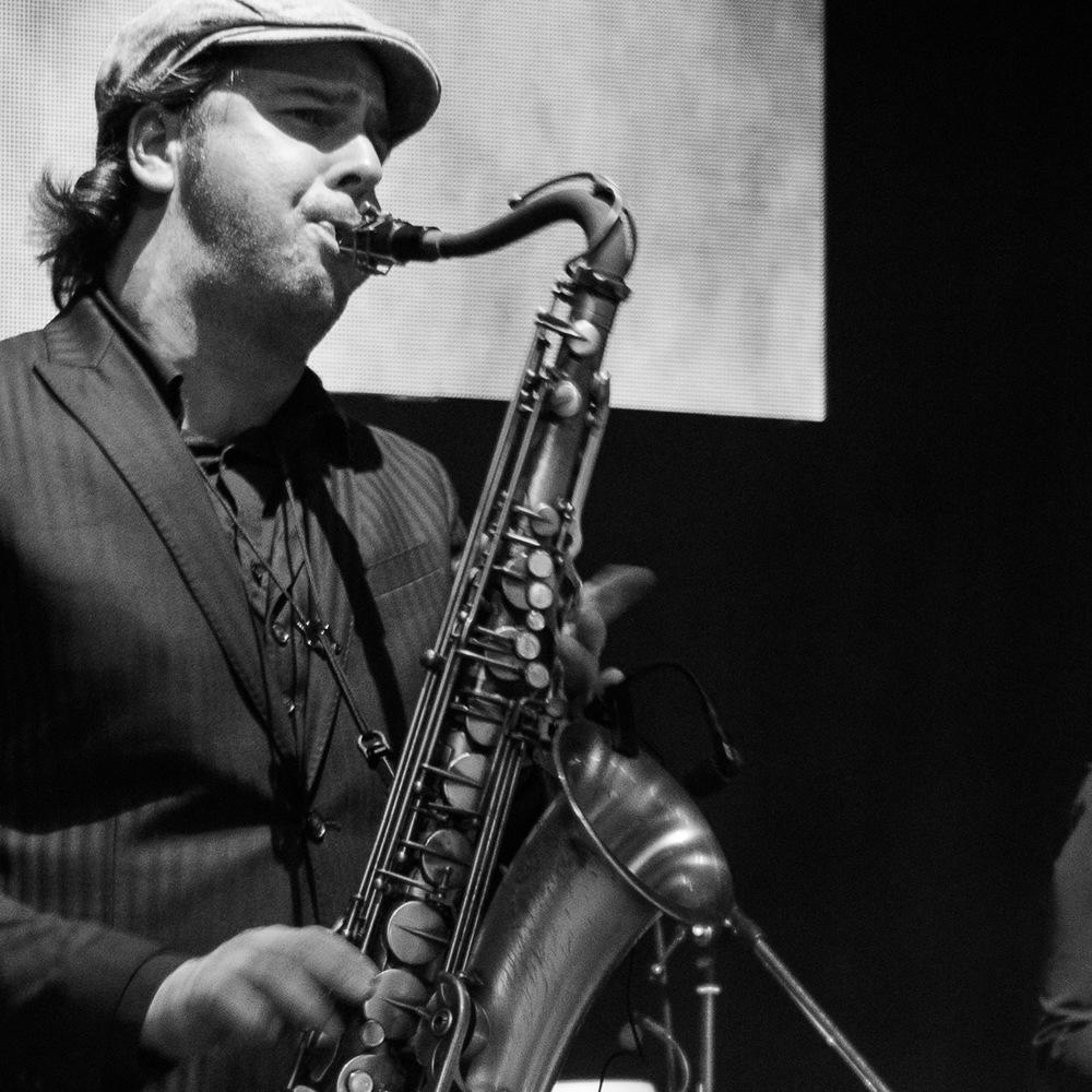 Andreas Goertz am Saxophon