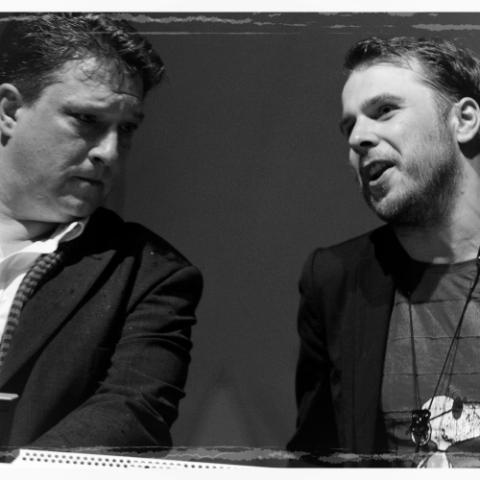Immer dabei: Andreas Kolisko und Andreas Goertz.
