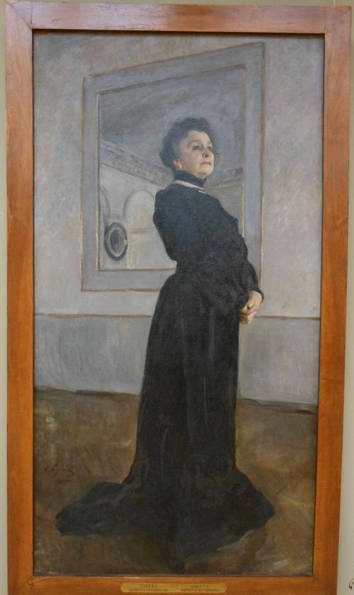 SEROV, portrait