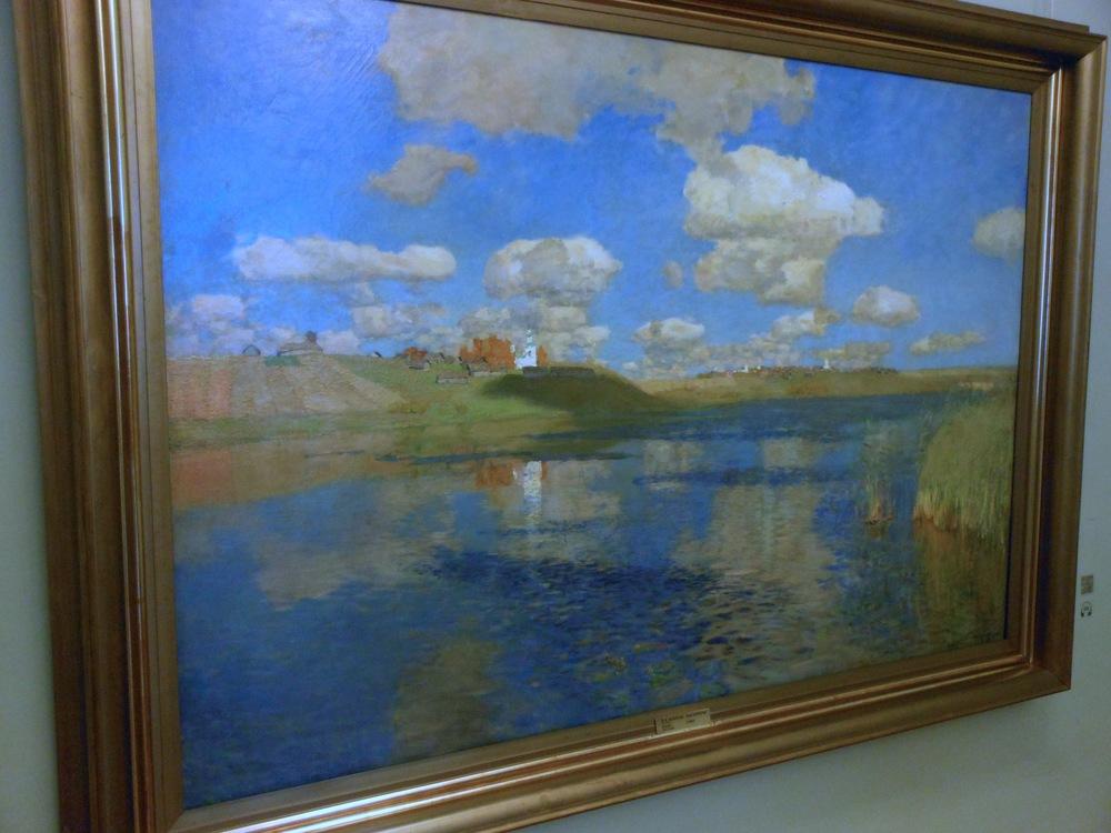 LEVITAN, the lake, Rus.