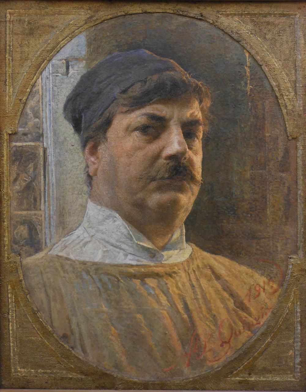 Antonio Orazion QUINZIO. Autoritratto