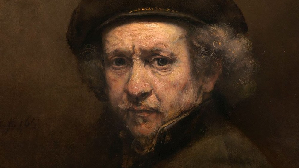 Rembrandt self portrait, 1659.