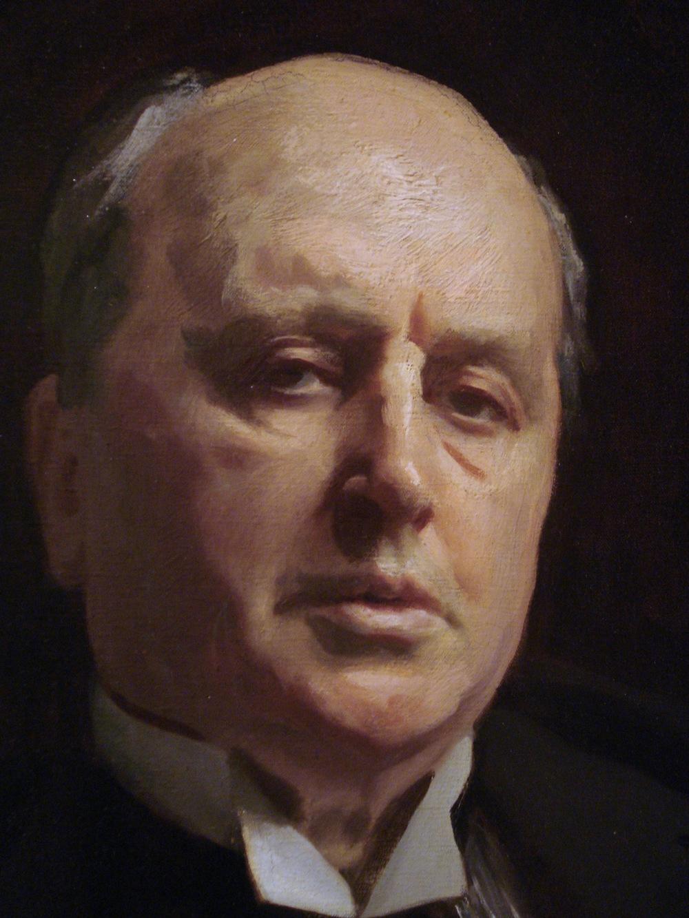 Henry James (detail) 1913