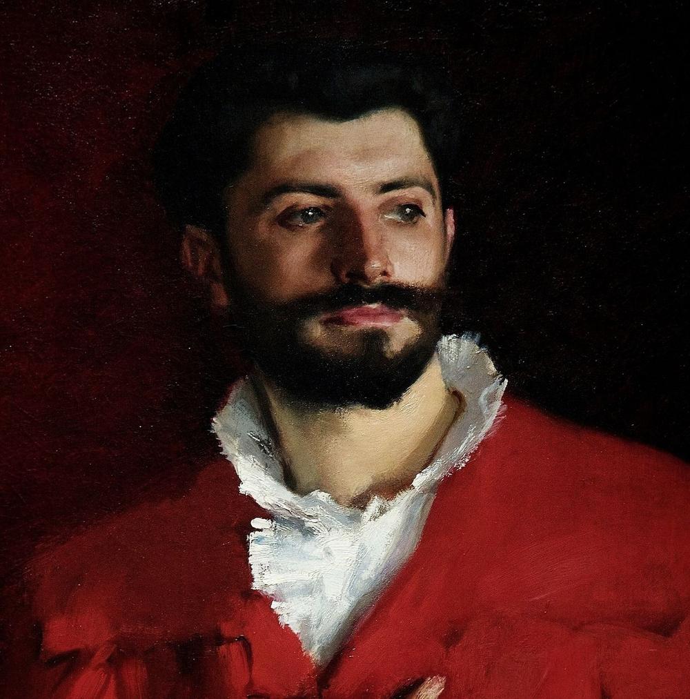 Dr Pozzi (detail) 1881.