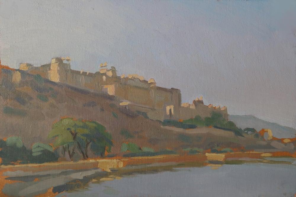 Amber fort, evening light.