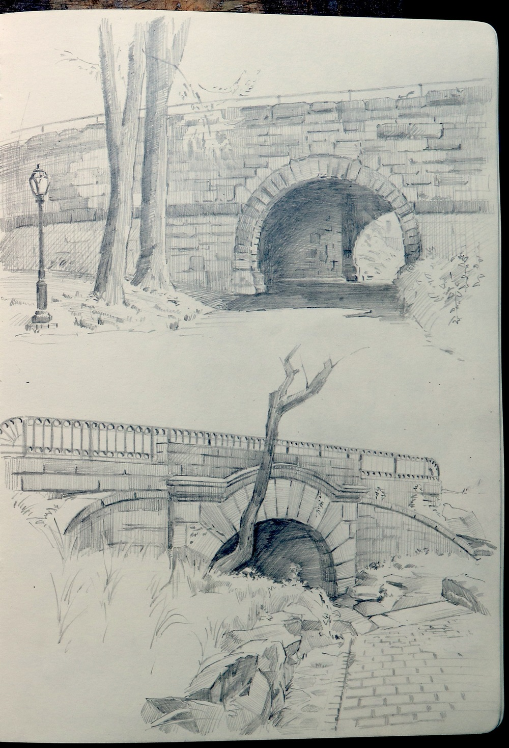 110th STREET ARCH  & the  SPRINGBANK ARCH