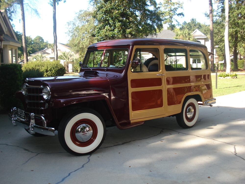 Bill & Monica's 1950 Willys Overland Station Wagon