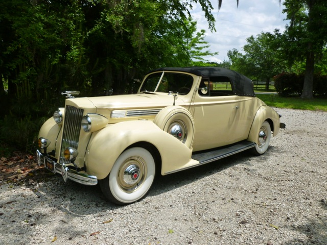 Dan Silva's 1939 Packard Coupe convertible