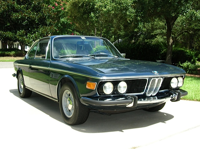 Phil Capossela's '71 BMW 3.0 CSi