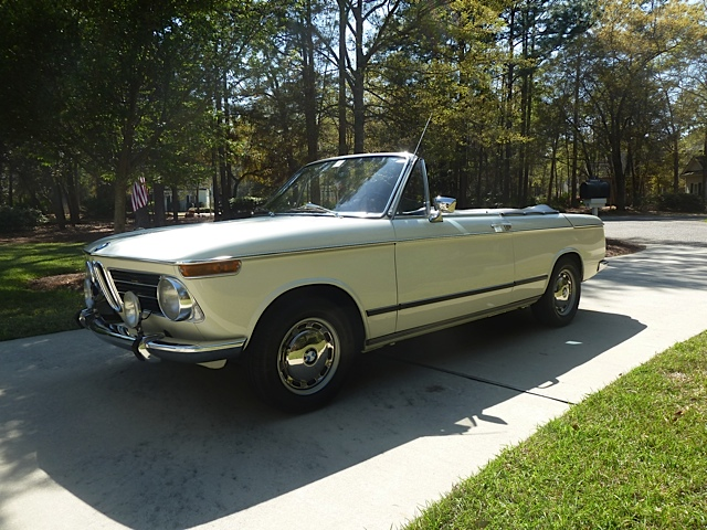 Phil Capossela's 1968 BMW 1600 Cabriolet
