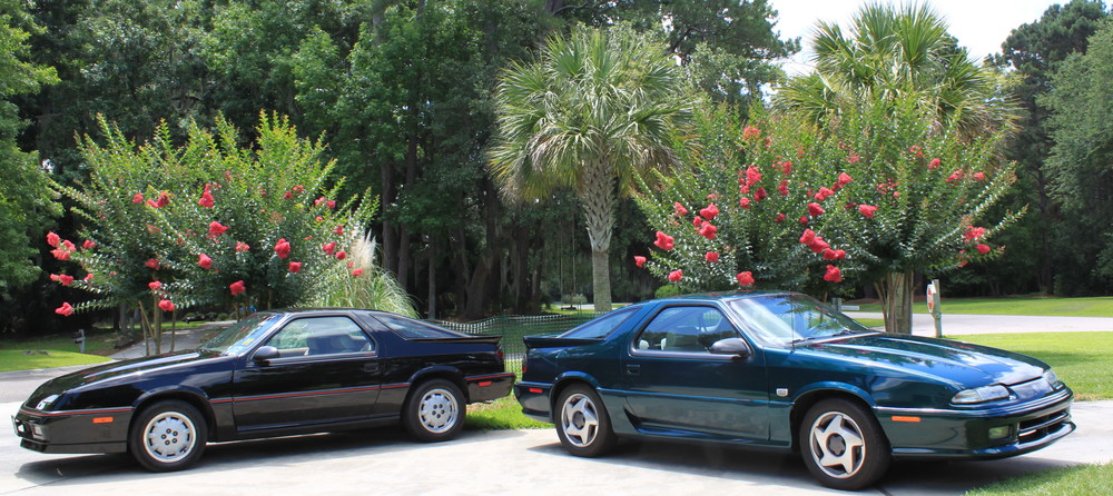 Pat & Gary Moulton's 88 Dodge Daytona Shelby Z and 93 Dodge Daytona IROC