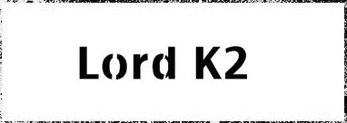Lord K2