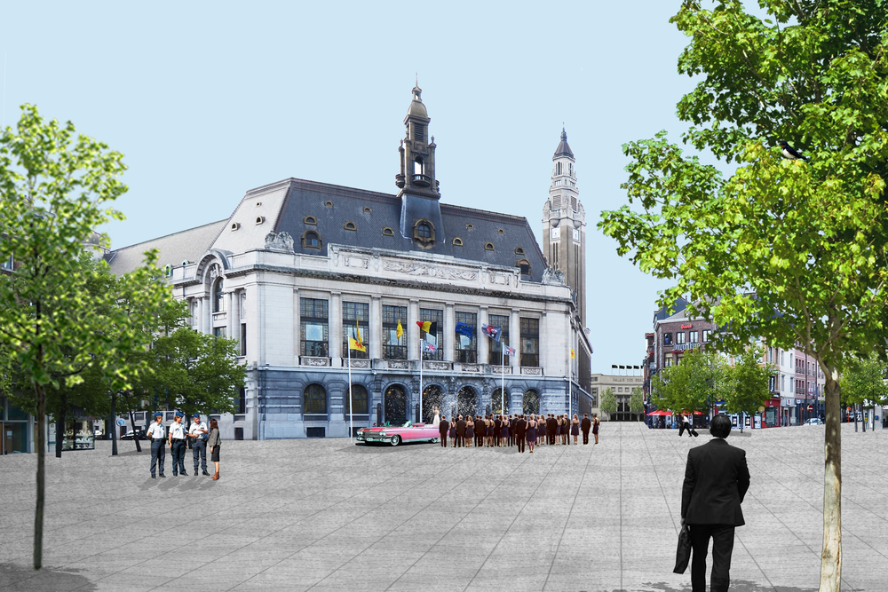 CHARLEROI BOUWMEESTER FEDER PLACE CHARLES II