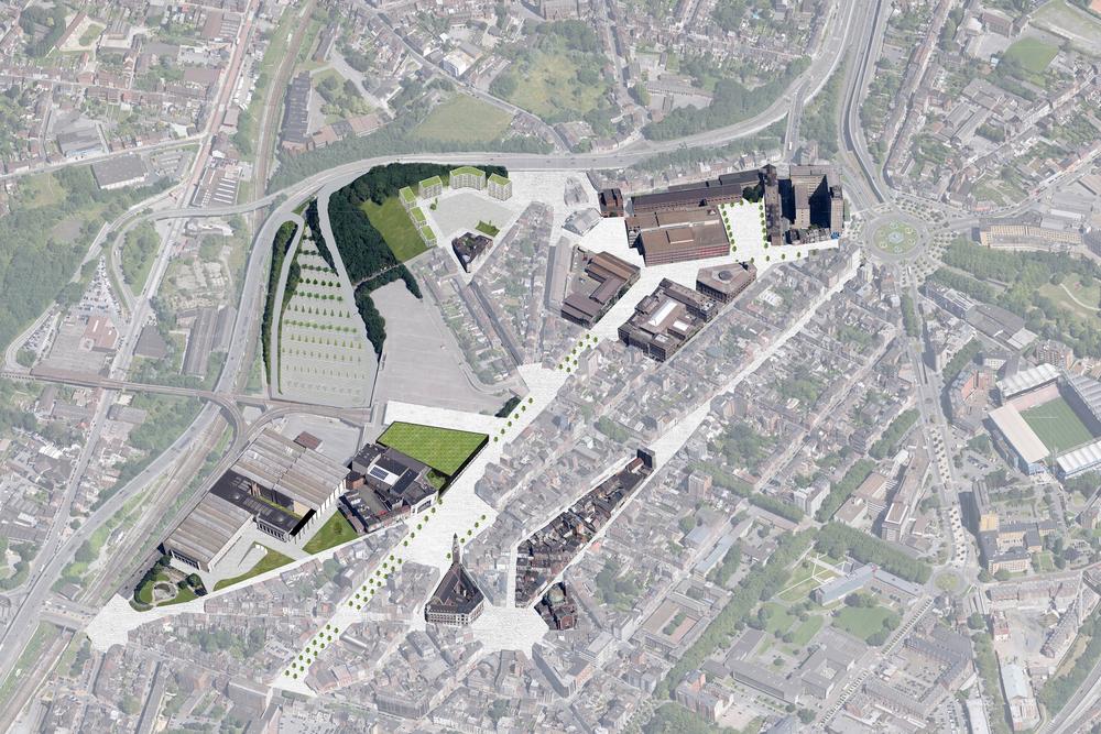 CHARLEROI DC   Portefeuille des projets FEDER 2014-2020 Dix-sept projets déposés auprès du FEDER et qui devraient requalifier à l'horizon 2020 le quadrant nord-ouest du centre ville de Charleroi. + d'informations