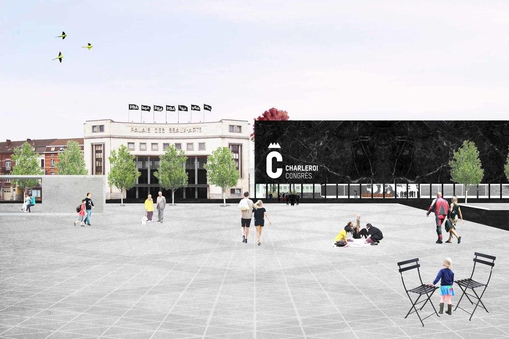 CHARLEROI DC  Portefeuille des projets FEDER 2014-2020 Aujourd'hui, grâce à la programmation 2014-2020 du FEDER, la ville peut réaliser cette ambitieuse rénovation du quadrant nord-ouest de son centre-urbain. + d'informations