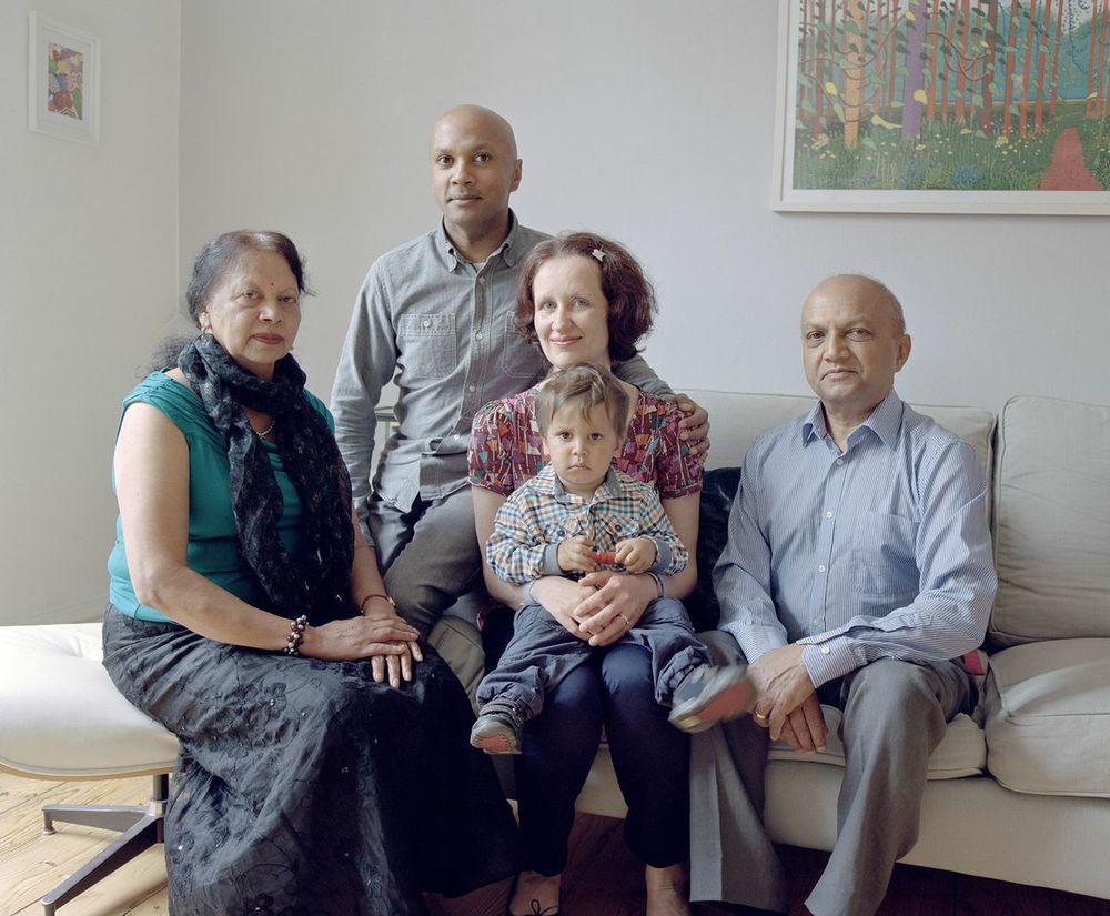 The Mojee Family,Mauritius / Scotland©Arpita Shah