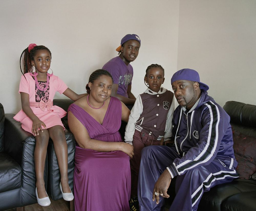 The Mapira Family,Zimbabwe / Scotland©Arpita Shah
