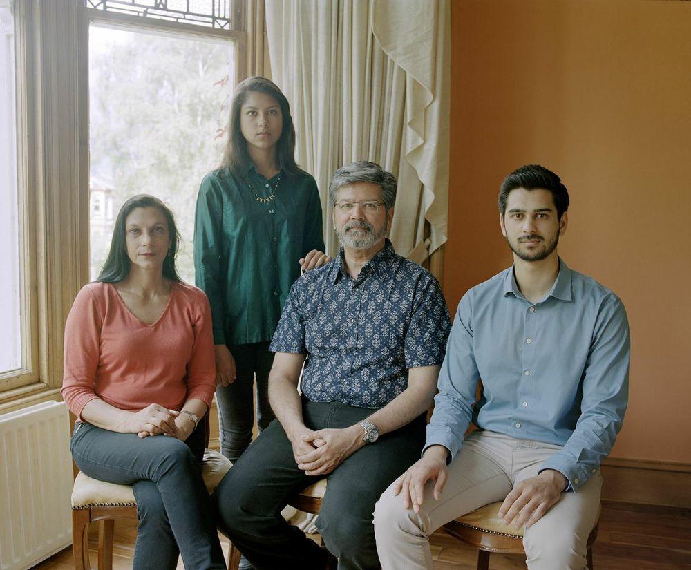 The Ramayya Family,India / Scotland©Arpita Shah