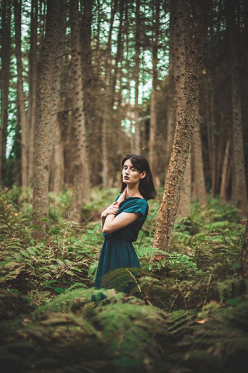 Scottish countryside 2014, Model: Kathleen© Peter Methven