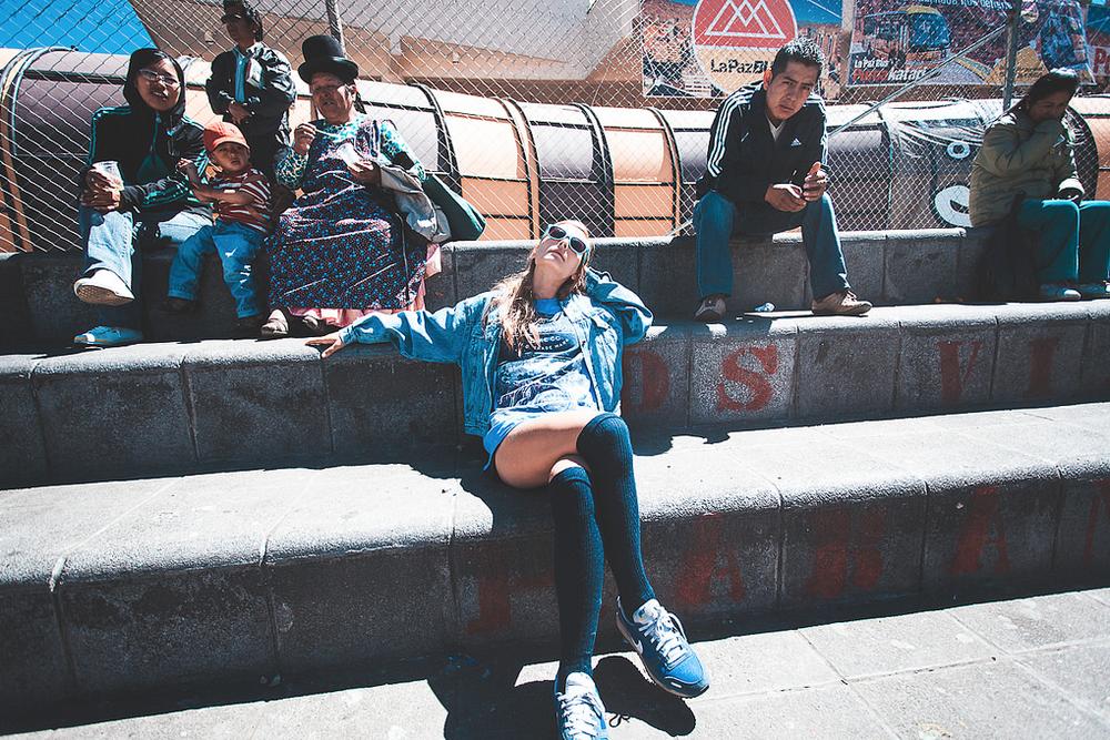 La Paz, Bolivia, 2013,Model:Magdalena© Peter Methven