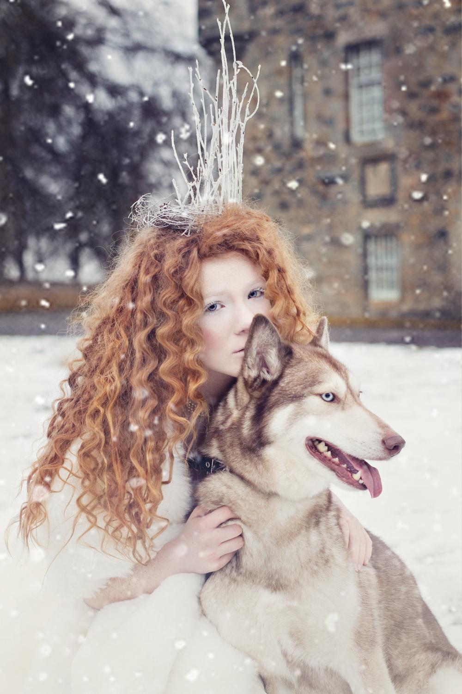 ©Karolina Kotkiewicz,Huskia:Model, Saskia Bertschy. Hair, Jenn Mathieson. Make up, Sharon Lumsden. Stylist- Karolina Kotkiewicz
