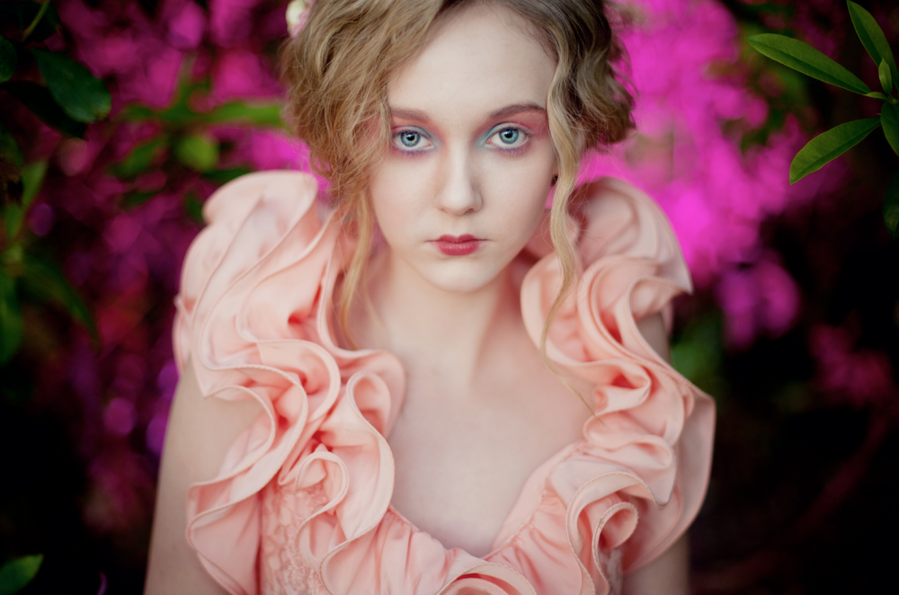 ©Karolina Kotkiewicz,Enchanted girl:Model, Amy Kerr. Hair, Chriss Mclean. Make up, Sharon Lumsden