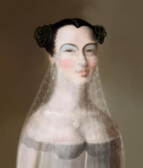 'Portrait of the Dancer Lizzie Belle'© Kevin low