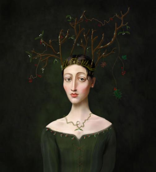 Miss Heatherwicke as 'Winter'© Kevin low