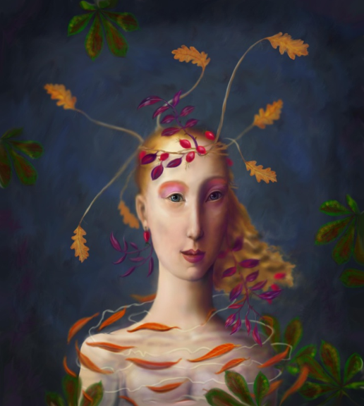 'In the Guise of Autumn'© Kevin low
