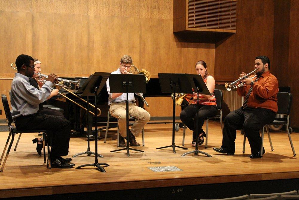 Mu Theta Brass Quintet 2016