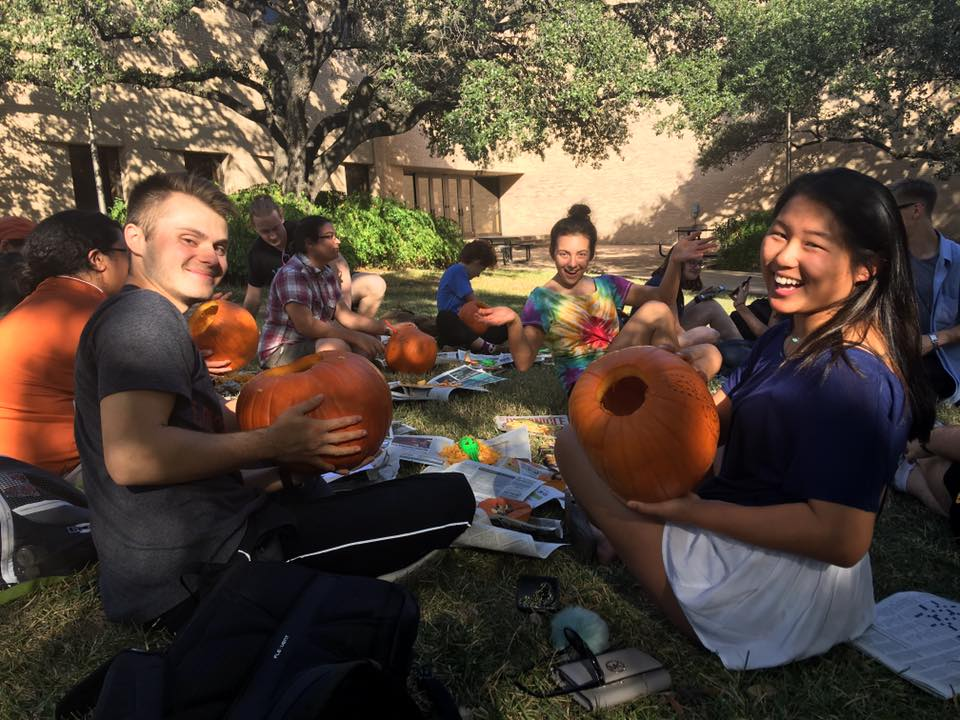 Pumpkin Carving, Fall 2016