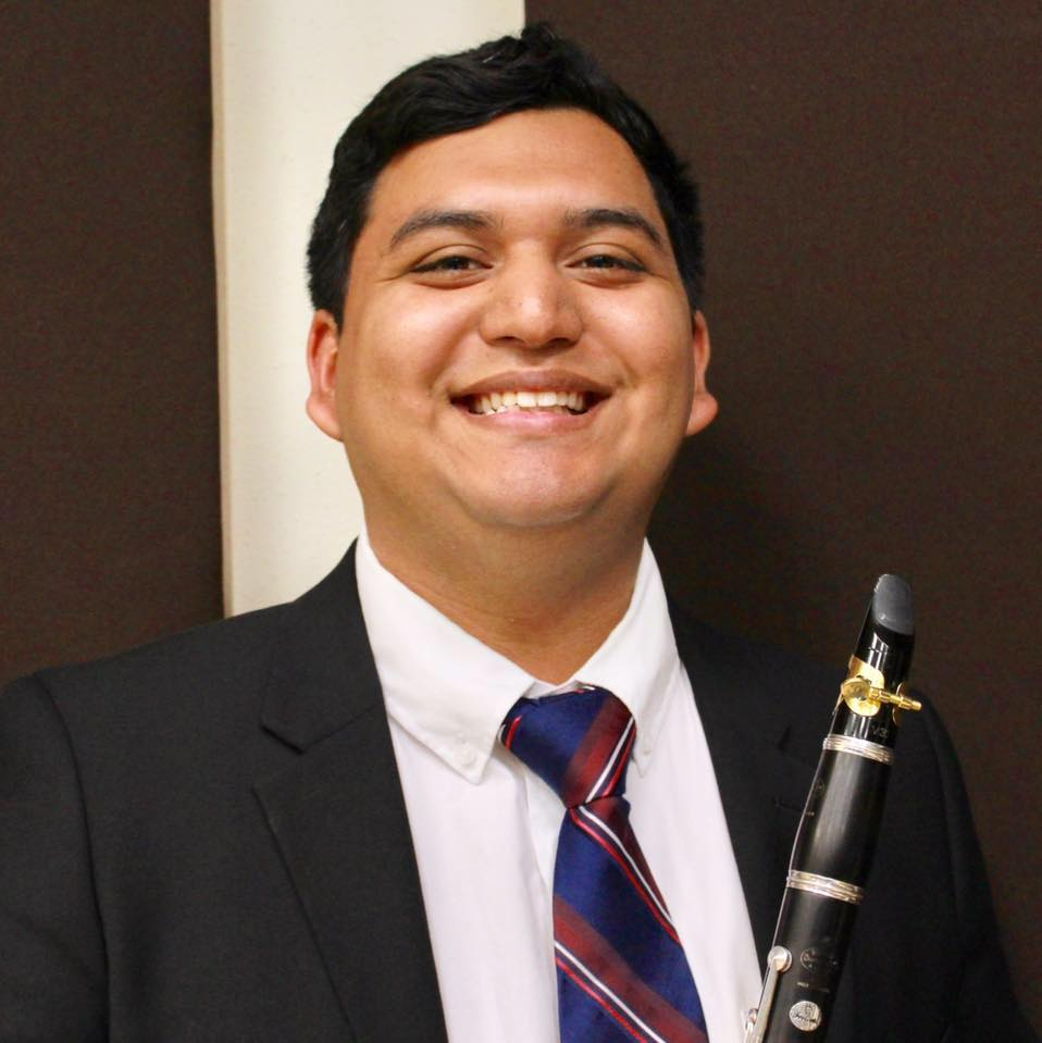 Moises Correa - Congrats to Moises for winning the Jean Louise Martin Scholarship! With this scholarship, Moises plans on using the money for repairing his instrument and buying instrument accessories.
