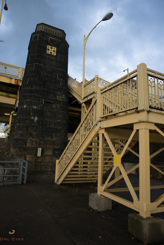 Stairs Rachel Carson Bridge