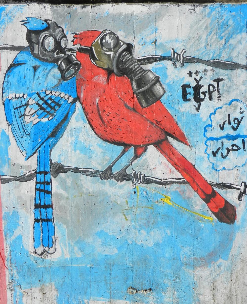 Street Art. Muhammad Mahmoud Street, Cairo. ©Elliott Colla (2012)