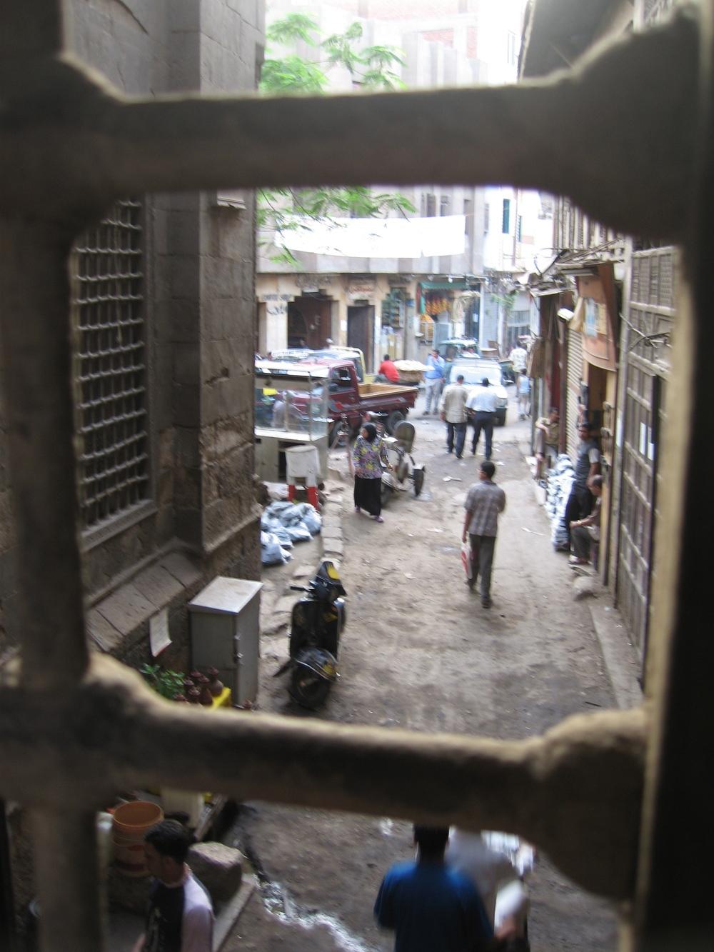 Darb al-Ahmar, Cairo. ©Elliott Colla (2005)