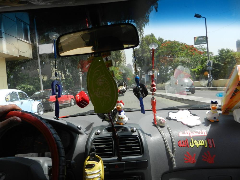 Cairo Taxi. ©Elliott Colla (2014)