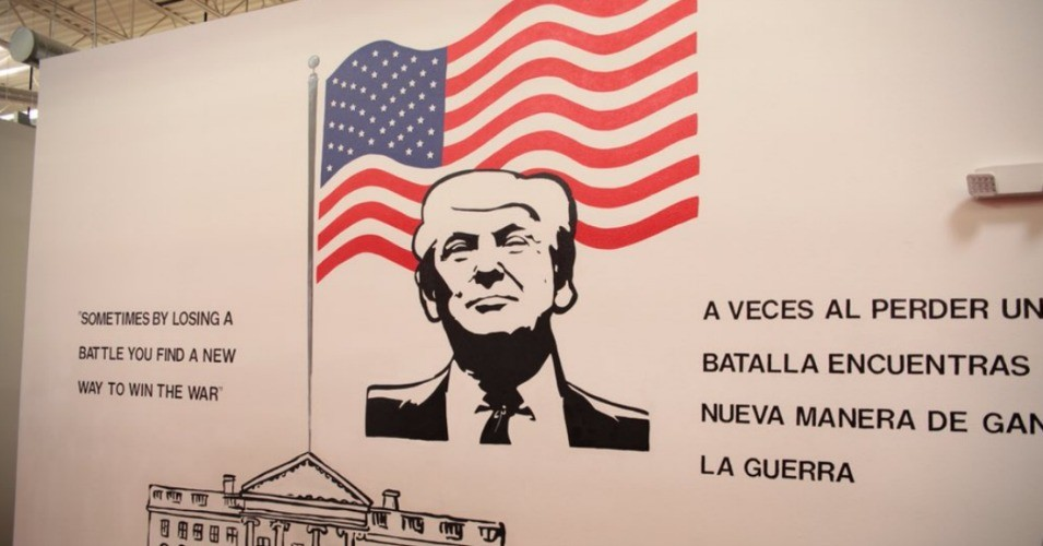 Image from Casa Padre, HHS detention center, Brownsville, TX.