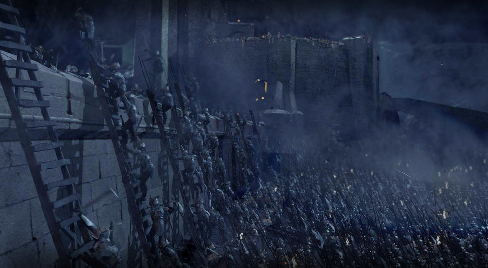 Battle of Helm's Deep,  The Two Towers  (2002)