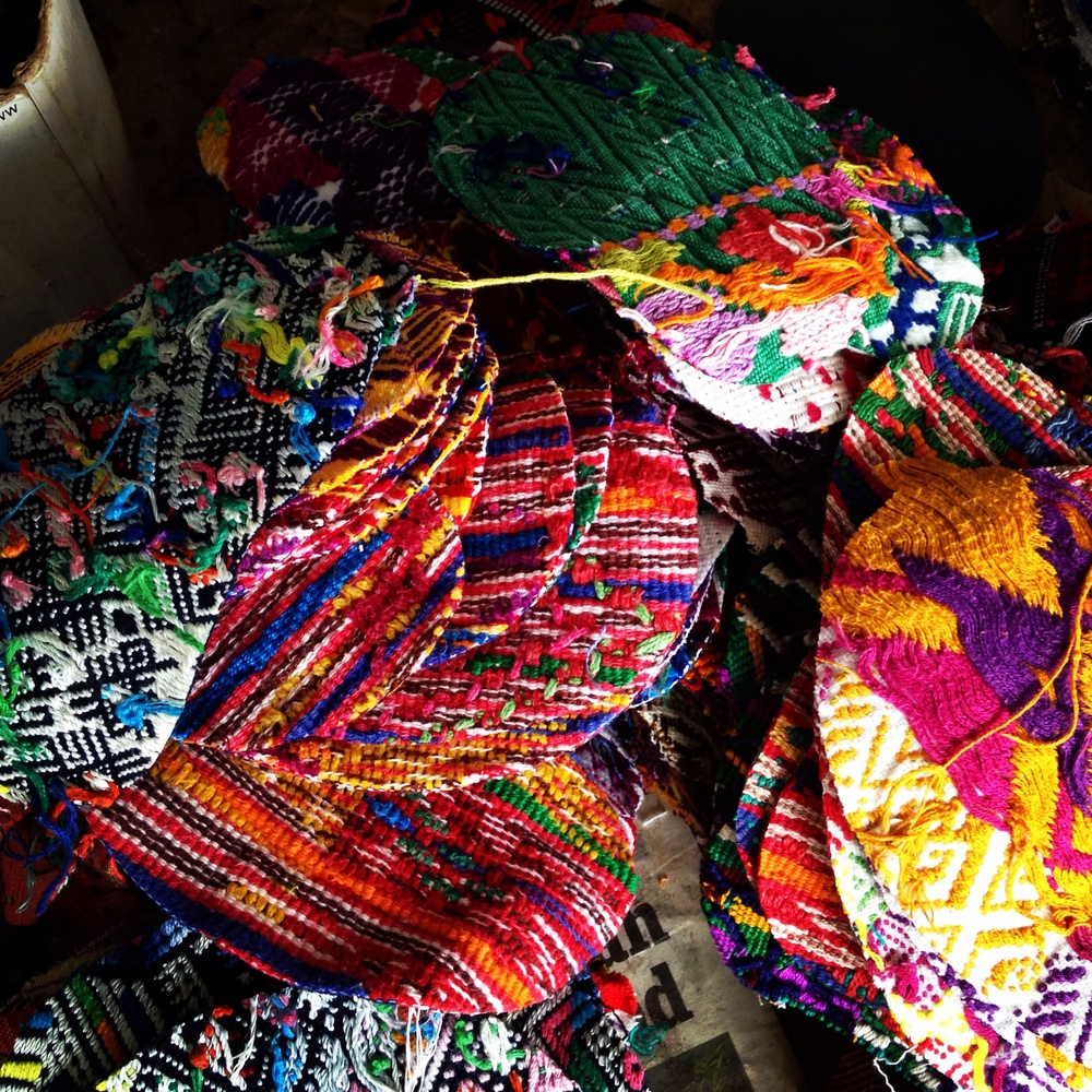 the amazingly beautiful textile selection of Guatemala