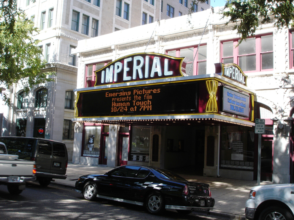 Catch a show at the historic Imperial Theater