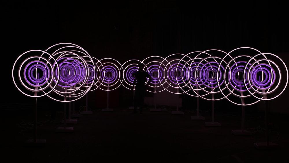 AV creative light installation