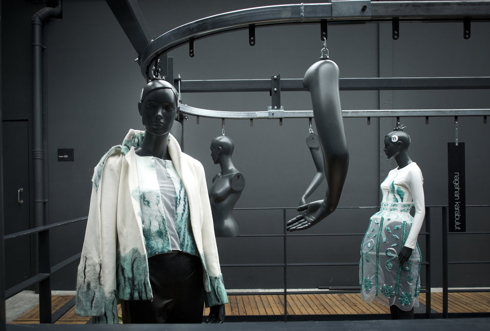 mechanical fashion installation
