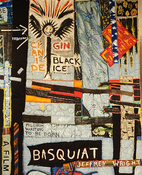 Detail: Basquiat