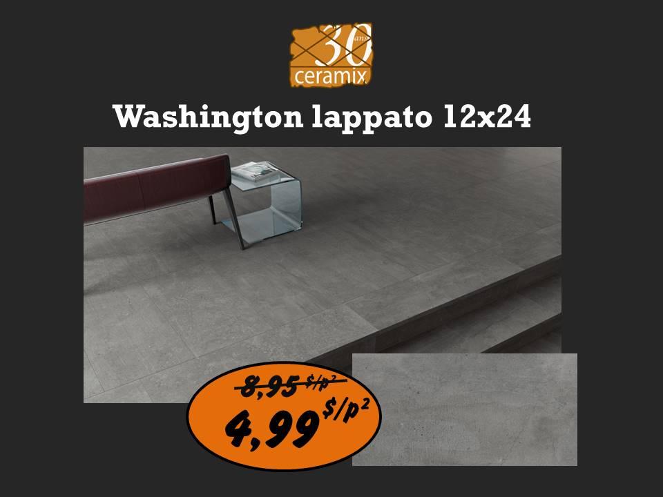 Washington lappato 12x24 ou 24x24