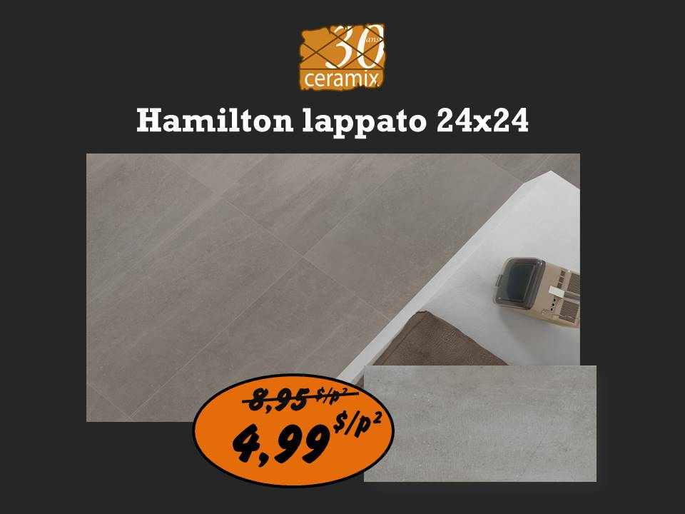Hamilton lappato 12x24 ou 24x24
