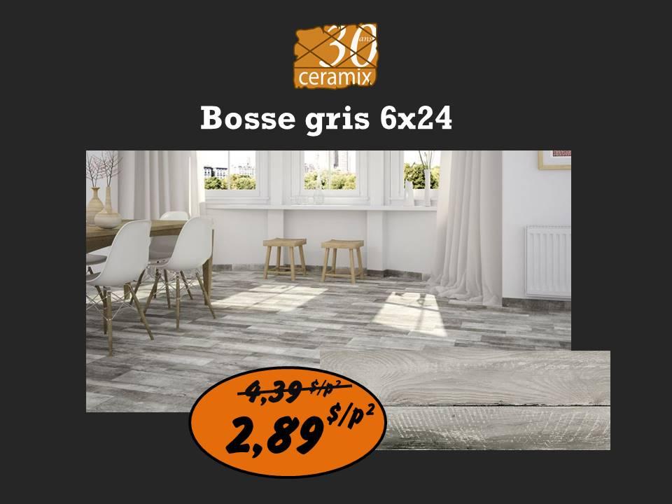 Bosse gris 6x24