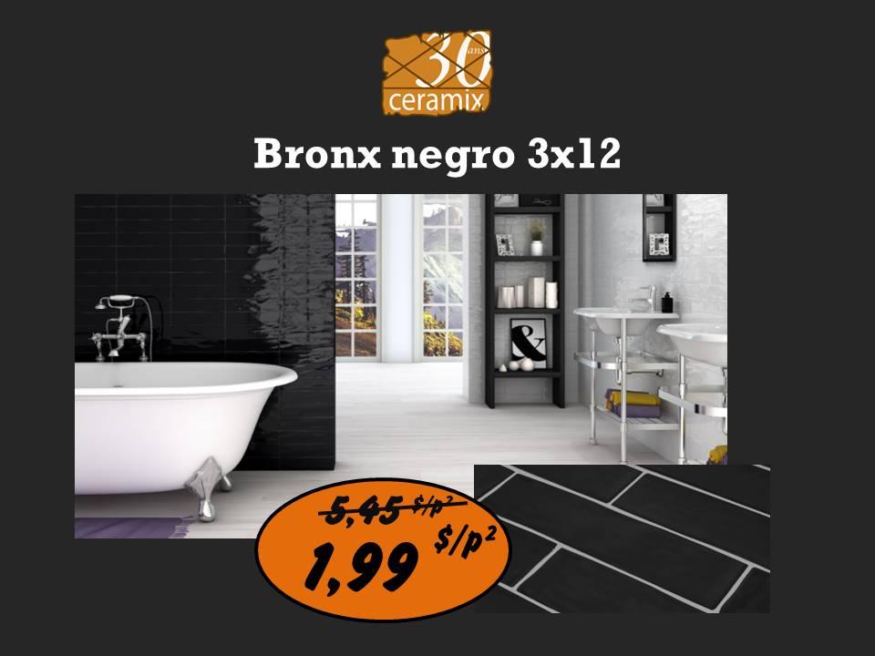 Bronx negro 3x12