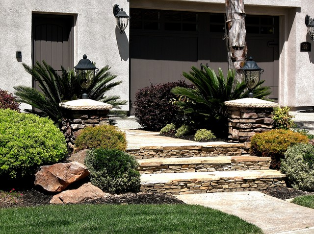 hardscape elements