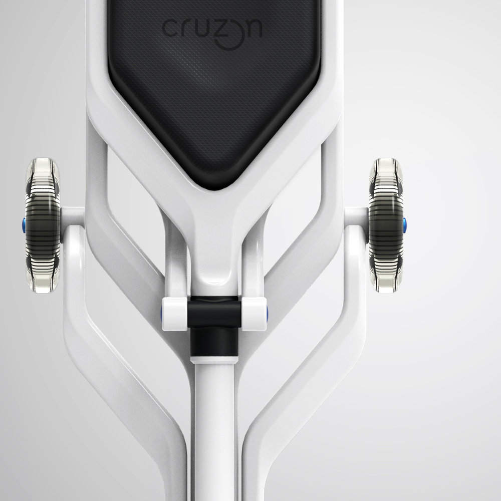 CRUZON | Commute Aid for Leg Injury